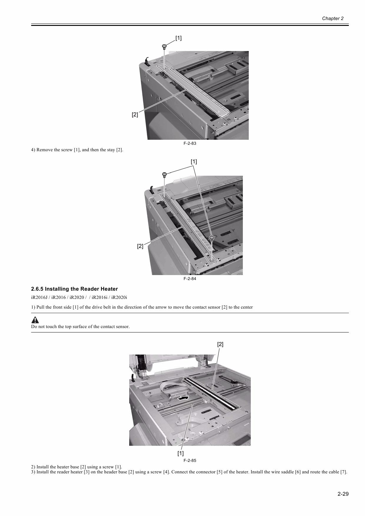 Canon imageRUNNER-iR 2020 2016 J Service Manual-3